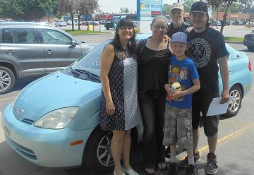 Family With Fagans Prius